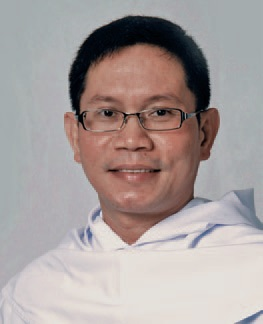 Fray Bernabe Dosdos, OAR, the newly appointed Head of the Section for SARF and SARF National Spiritual Adviser.
