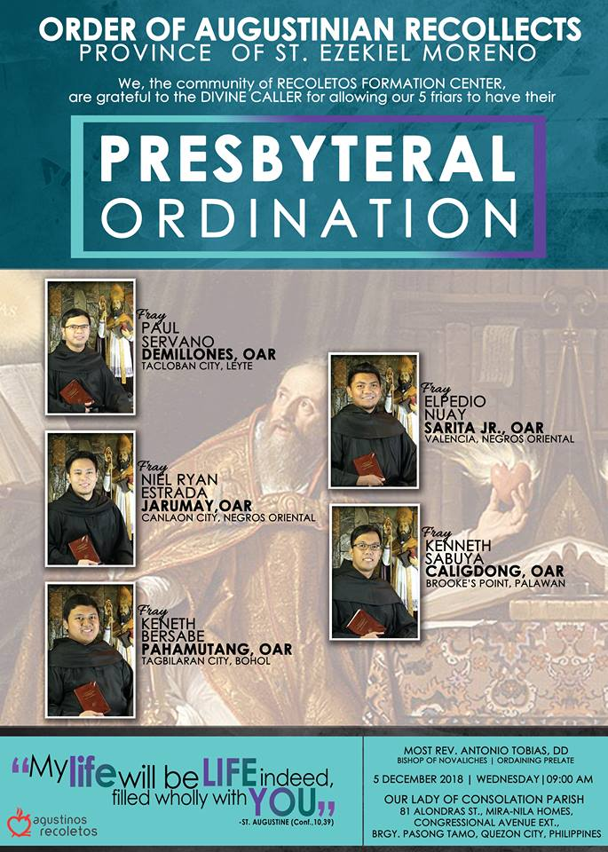 presbyteral ordination 2018
