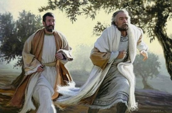 Reconstruction-of-the-scene-as-Peter-and-John-run-towards-the-tomb-in-the-early-morning