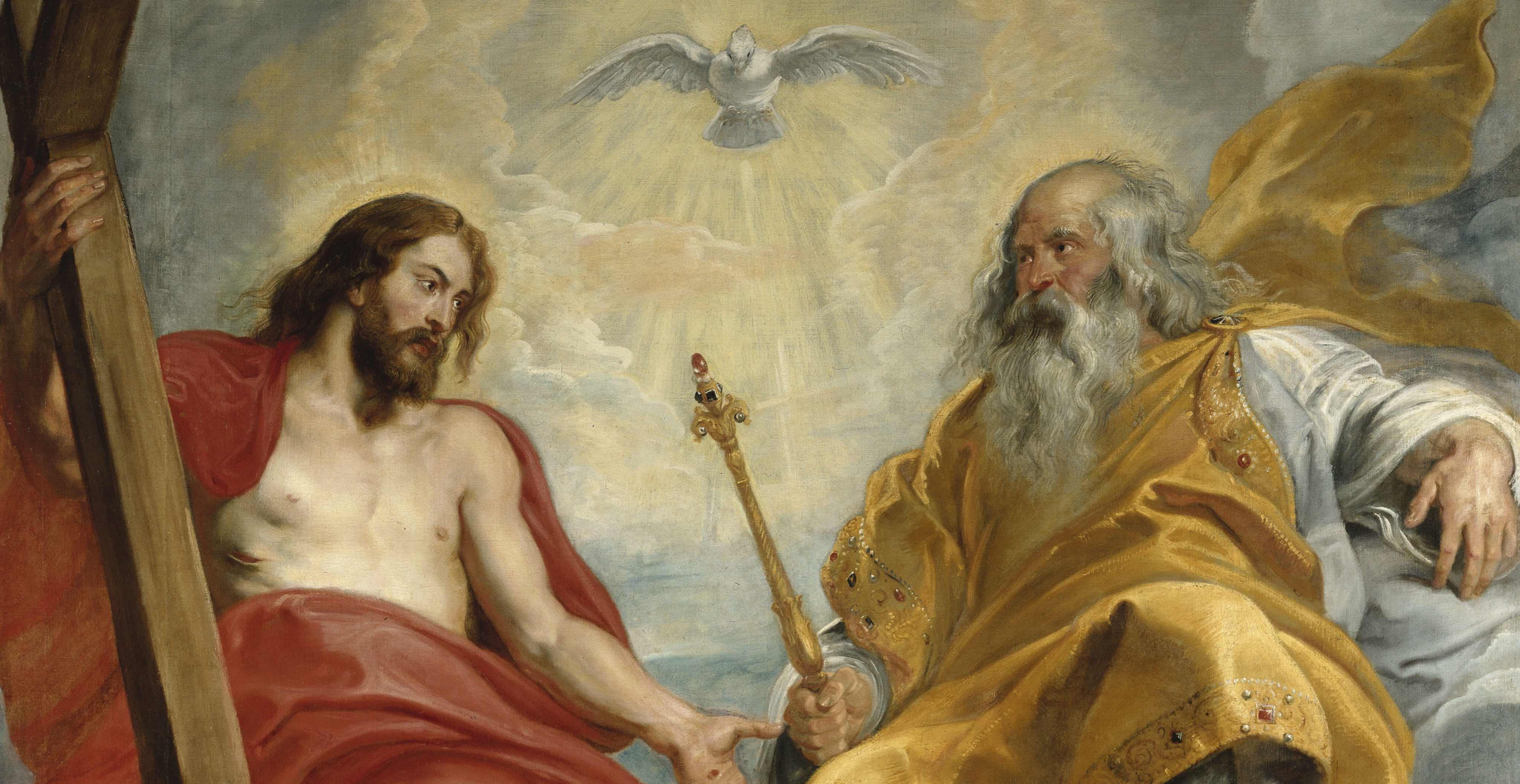 The Holy Trinity by Peter Paul Rubens