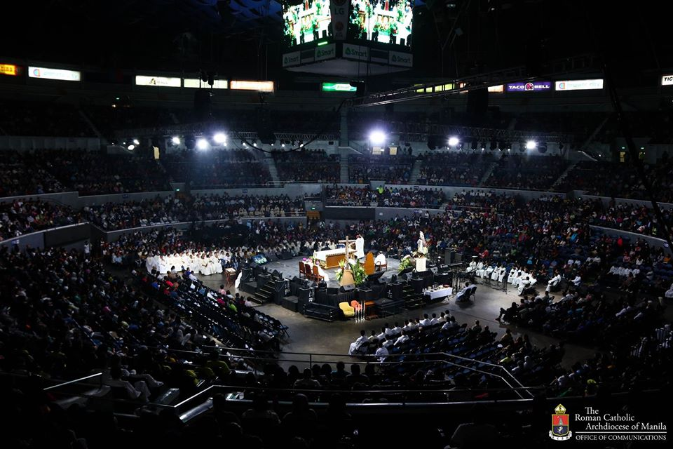 The 7th edition of the Philippine Conference on New Evangelization held at Smart Araneta Coliseum.